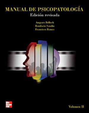 MANUAL DE PSICOPATOLOGIA / VOL. II