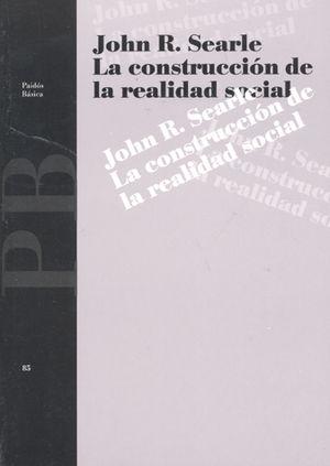 CONSTRUCCION DE LA REALIDAD SOCIAL