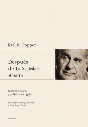 DESPUES DE LA SOCIEDAD ABIERTA. ESCRITOS POLITICOS Y SOCIALES