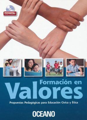 FORMACION DE VALORES / PD. (INCLUYE CD)