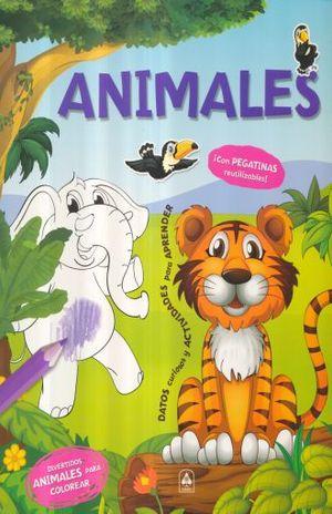 ANIMALES / GRAN COLOREABLE