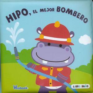 HIPO EL MEJOR BOMBERO. LIBRO BAÑO