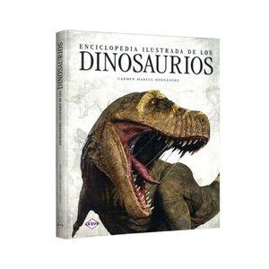 Enciclopedia ilustrada de los dinosaurios / pd.