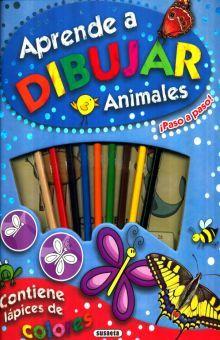 APRENDE A DIBUJAR ANIMALES / PD.