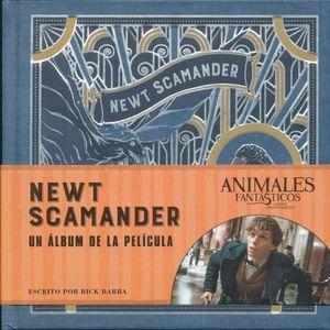 NEWT SCAMANDER. ANIMALES FANTASTICOS Y DONDE ENCONTRARLOS UN ALBUM DE LA PELICULA / PD.