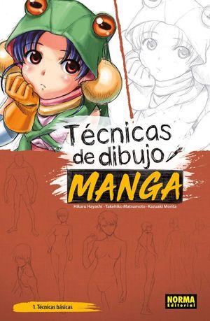 TECNICAS DE DIBUJO. MANGA. TECNICAS BASICAS 1