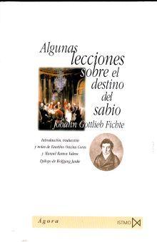 ALGUNAS LECCIONES SOBRE EL DESTINO DEL SABIO