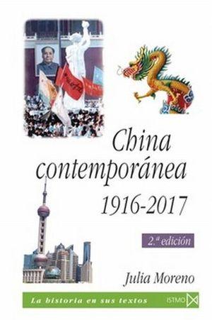 CHINA CONTEMPORANEA 1916-2017 / 2 ED.