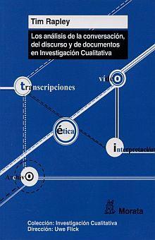 ANALISIS DE LA CONVERSACION DEL DISCURSO Y DE DOCUMENTOS EN INVESTIGACION CUALITATIVA