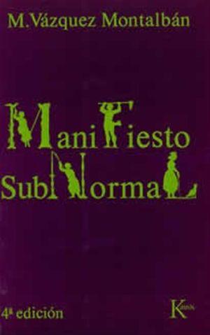 MANIFIESTO SUBNORMAL