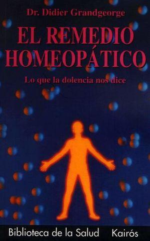 El remedio homeopático