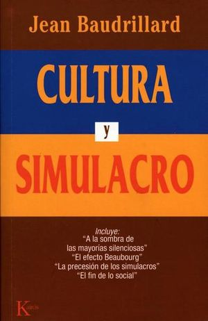 CULTURA Y SIMULACRO / 7 ED.