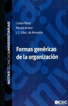 FORMAS GENERICAS DE LA ORGANIZACION