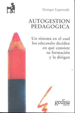 Autogestión pedagógica