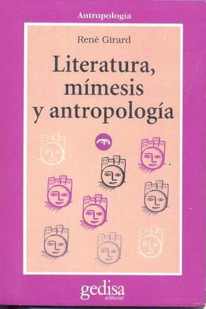 LITERATURA MIMESIS Y ANTROPOLOGIA