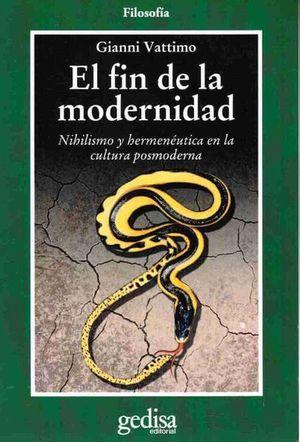 FIN DE LA MODERNIDAD, EL