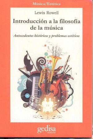 INTRODUCCION A LA FILOSOFIA DE LA MUSICA