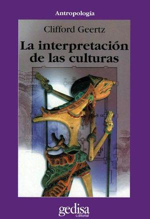 INTERPRETACION DE LAS CULTURAS, LA