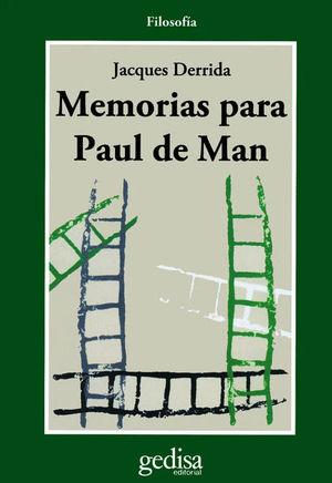 MEMORIA DE PAUL DE MAN