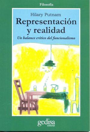 REPRESENTACION Y REALIDAD