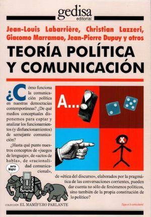 TEORIA POLITICA Y COMUNICACION