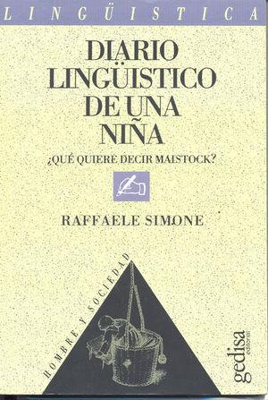 DIARIO LINGUISTICO DE UNA NIÑA