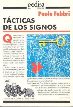 TACTICAS DE LOS SIGNOS