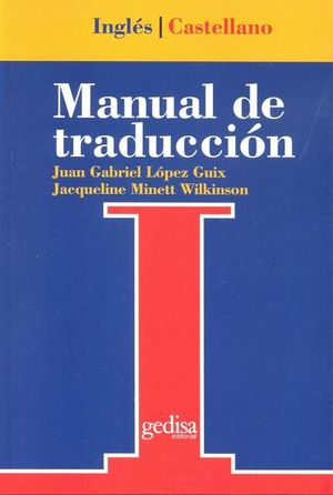 MANUAL DE TRADUCCION INGLES CASTELLANO