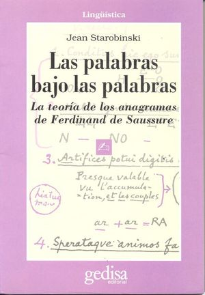 PALABRAS BAJO LAS PALABRAS, LAS