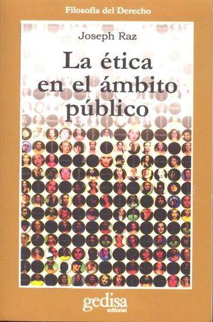 ETICA EN EL AMBITO PUBLICO, LA