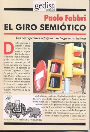 GIRO SEMIOTICO, EL