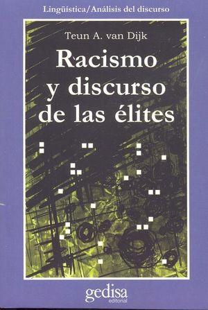 RACISMO Y DISCURSO DE LAS ELITES