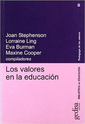 VALORES EN LA EDUCACION, LOS