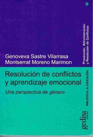 RESOLUCION DE CONFLICTOS Y APRENDIZAJE EMOCIONAL. UNA PERSPECTIVA DE GENERO