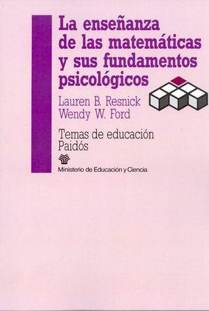 ENSEÑANZA DE LAS MATEMATICAS Y SUS FUNDAMENTOS PSICOLOGICOS