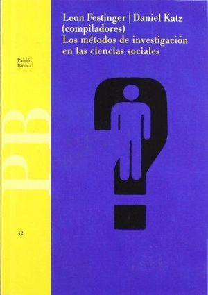 METODOS DE INVESTIGACION EN LAS CIENCIAS SOCIALES, LOS