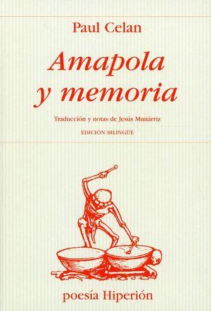 Amapola y memoria / 3 ed.