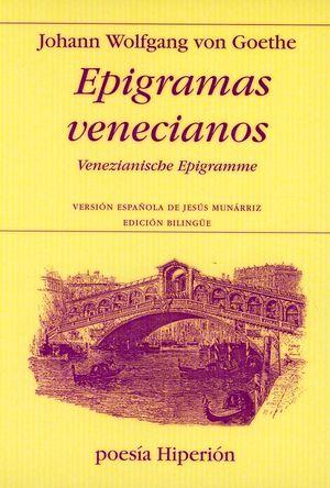 Epigramas venecianos (Venezianische Epigramme)