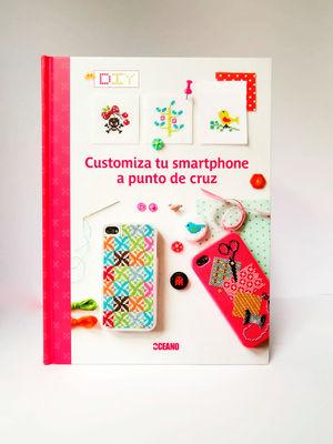 CUSTOMIZA TU SMARTPHONE  A PUNTO DE CRUZ / PD.