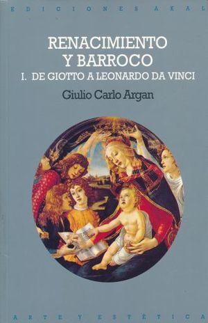 RENACIMIENTO Y BARROCO VOL. 1 / 2 ED.