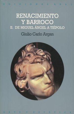 RENACIMIENTO Y BARROCO VOL. 2 / 2 ED.