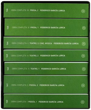 OBRA COMPLETA / FEDERICO GARCIA LORCA / 7 VOLS.