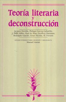 TEORIA LITERARIA Y DECONSTRUCCION