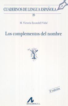 COMPLEMENTOS DEL NOMBRE, LOS / 3 ED.