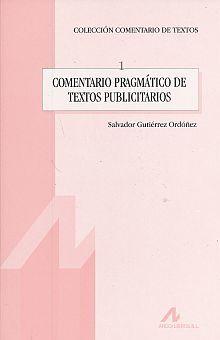 COMENTARIO PRAGMATICO DE TEXTOS PUBLICITARIOS