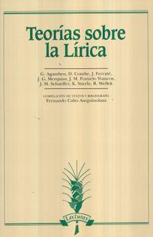 TEORIAS SOBRE LA LIRICA