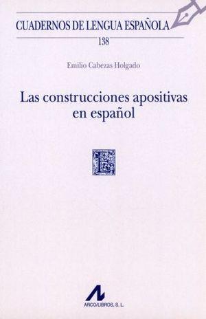 CONTRUCCIONES APOSITIVAS EN ESPAÑOL, LAS