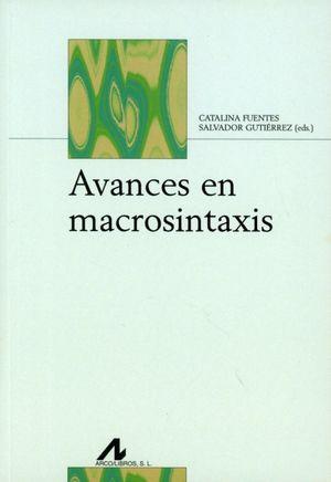AVANCES EN MACROSINTAXIS