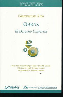 OBRAS. EL DERECHO UNIVERSAL