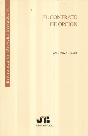 CONTRATO DE OPCION, EL